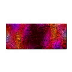 Purple Orange Pink Colorful Hand Towel