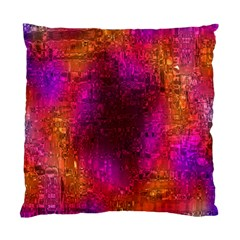 Purple Orange Pink Colorful Standard Cushion Case (One Side)