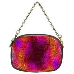 Purple Orange Pink Colorful Chain Purses (Two Sides)
