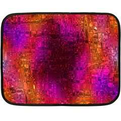 Purple Orange Pink Colorful Fleece Blanket (Mini)