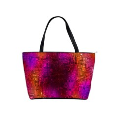 Purple Orange Pink Colorful Shoulder Handbags