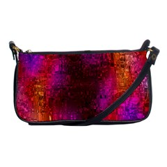 Purple Orange Pink Colorful Shoulder Clutch Bags