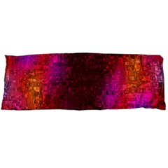 Purple Orange Pink Colorful Body Pillow Case Dakimakura (Two Sides)