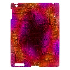 Purple Orange Pink Colorful Apple iPad 3/4 Hardshell Case