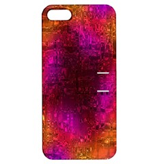 Purple Orange Pink Colorful Apple iPhone 5 Hardshell Case with Stand