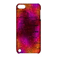 Purple Orange Pink Colorful Apple iPod Touch 5 Hardshell Case with Stand