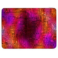 Purple Orange Pink Colorful Samsung Galaxy Tab 7  P1000 Flip Case
