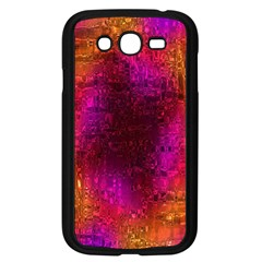 Purple Orange Pink Colorful Samsung Galaxy Grand DUOS I9082 Case (Black)