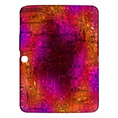 Purple Orange Pink Colorful Samsung Galaxy Tab 3 (10.1 ) P5200 Hardshell Case