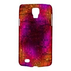 Purple Orange Pink Colorful Galaxy S4 Active