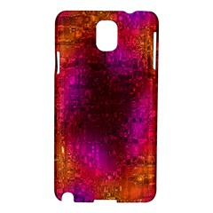 Purple Orange Pink Colorful Samsung Galaxy Note 3 N9005 Hardshell Case