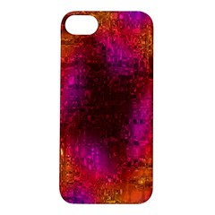 Purple Orange Pink Colorful Apple iPhone 5S/ SE Hardshell Case