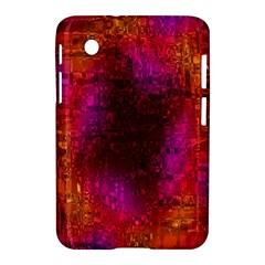 Purple Orange Pink Colorful Samsung Galaxy Tab 2 (7 ) P3100 Hardshell Case