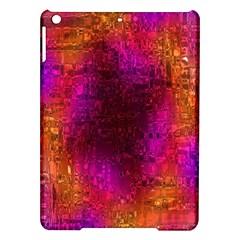 Purple Orange Pink Colorful iPad Air Hardshell Cases