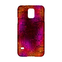 Purple Orange Pink Colorful Samsung Galaxy S5 Hardshell Case