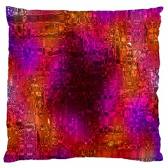 Purple Orange Pink Colorful Standard Flano Cushion Case (Two Sides)