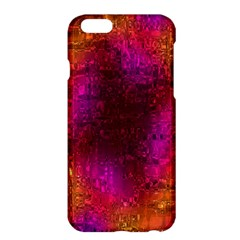Purple Orange Pink Colorful Apple iPhone 6 Plus/6S Plus Hardshell Case