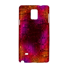 Purple Orange Pink Colorful Samsung Galaxy Note 4 Hardshell Case