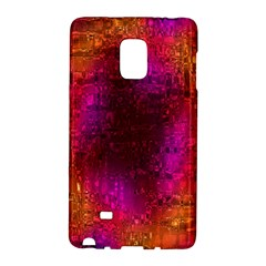 Purple Orange Pink Colorful Galaxy Note Edge