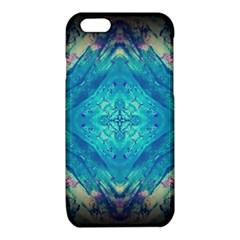 Boho Hippie Tie Dye Retro Seventies Blue Violet iPhone 6/6S TPU Case