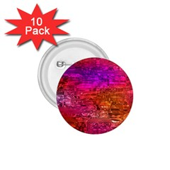 Purple Orange Pink Colorful Art 1.75  Buttons (10 pack)