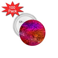 Purple Orange Pink Colorful Art 1.75  Buttons (100 pack)