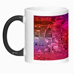 Purple Orange Pink Colorful Art Morph Mugs