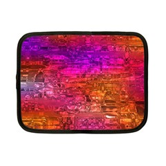 Purple Orange Pink Colorful Art Netbook Case (Small)