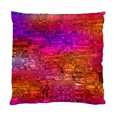 Purple Orange Pink Colorful Art Standard Cushion Case (One Side)