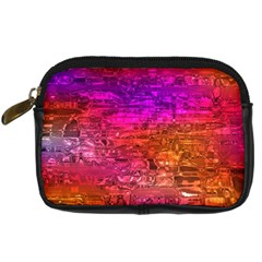 Purple Orange Pink Colorful Art Digital Camera Cases