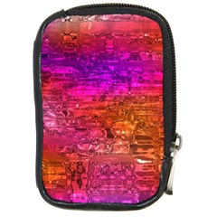 Purple Orange Pink Colorful Art Compact Camera Cases