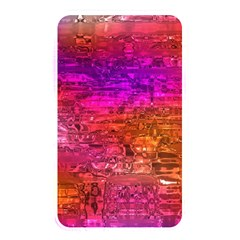 Purple Orange Pink Colorful Art Memory Card Reader