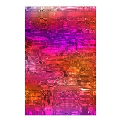 Purple Orange Pink Colorful Art Shower Curtain 48  x 72  (Small)