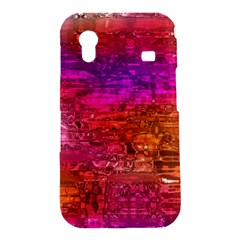 Purple Orange Pink Colorful Art Samsung Galaxy Ace S5830 Hardshell Case