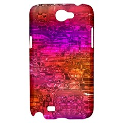 Purple Orange Pink Colorful Art Samsung Galaxy Note 2 Hardshell Case
