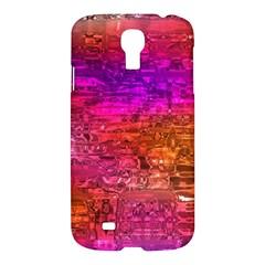 Purple Orange Pink Colorful Art Samsung Galaxy S4 I9500/I9505 Hardshell Case