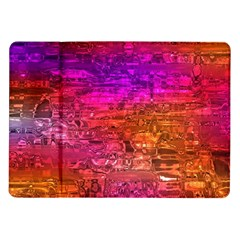 Purple Orange Pink Colorful Art Samsung Galaxy Tab 10.1  P7500 Flip Case