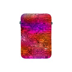 Purple Orange Pink Colorful Art Apple iPad Mini Protective Soft Cases