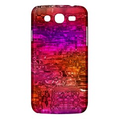Purple Orange Pink Colorful Art Samsung Galaxy Mega 5.8 I9152 Hardshell Case