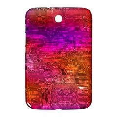 Purple Orange Pink Colorful Art Samsung Galaxy Note 8.0 N5100 Hardshell Case