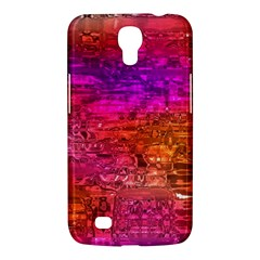 Purple Orange Pink Colorful Art Samsung Galaxy Mega 6.3  I9200 Hardshell Case