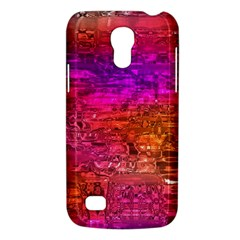 Purple Orange Pink Colorful Art Galaxy S4 Mini