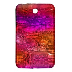 Purple Orange Pink Colorful Art Samsung Galaxy Tab 3 (7 ) P3200 Hardshell Case
