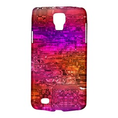 Purple Orange Pink Colorful Art Galaxy S4 Active