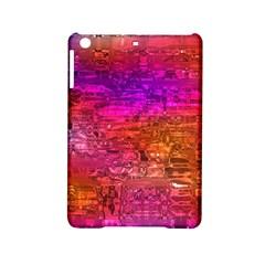Purple Orange Pink Colorful Art iPad Mini 2 Hardshell Cases