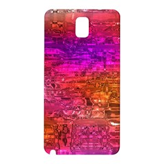 Purple Orange Pink Colorful Art Samsung Galaxy Note 3 N9005 Hardshell Back Case