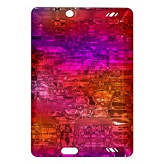 Purple Orange Pink Colorful Art Amazon Kindle Fire HD (2013) Hardshell Case