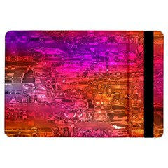 Purple Orange Pink Colorful Art iPad Air Flip