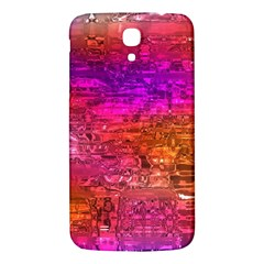 Purple Orange Pink Colorful Art Samsung Galaxy Mega I9200 Hardshell Back Case