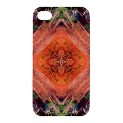 Boho Bohemian Hippie Floral Abstract Faded  Apple Iphone 4/4s Premium Hardshell Case
